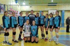 В Копчаке 29.11.2020 прошёл турнир по волейболу (девушки) среди учащихся ДЮСШ