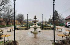 Неизвестные разбили фонтан на Аллее славы