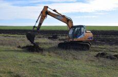 В Копчаке началась подготовка земли площадью 10 га к весенней посадке лесонасаждений