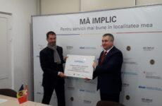 Примар Копчака подписал соглашение о сотрудничестве в рамках программы «Mă implic»