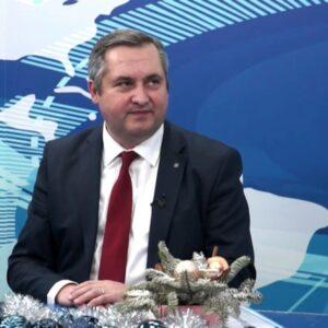 Олег Гаризан дал интервью для выпуска передачи «Сегодня» на канале NTS