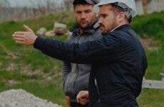 (VIDEO) В селе Копчак  полным ходом идёт строительство  двух  бюветов.