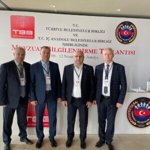Делегация GPB принимает участие в конференции муниципалитетов Турции