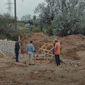 (VIDEO) Начало ремонтных работ по восстановлению родника Ялпуг.