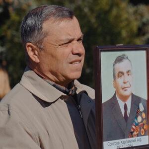 Возложение цветов памятнику Воинам — Освободителям.