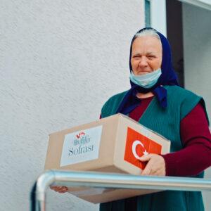 Турецкое агентство по развитию «TIKA» предоставила гуманитарную помощь.