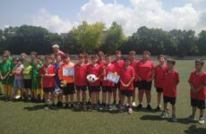 Футболисты ДЮСШ приняли участие в Региональном турнире по футболу