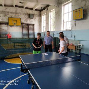 Турнир  настольного тенниса  в честь «Дня здоровья»