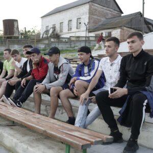 Молодежь в деле! В селе Копчак состоялся просмотр фильма под открытым небом