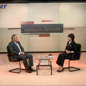 Примар Копчака в передаче на ГРТ «Прямая линия»