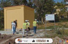 Инспектирование строительства новых бюветов