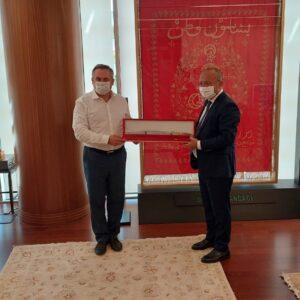 Примар Копчака Олег Гаризан с рабочим визитом посетил Турцию.