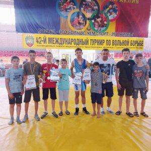 Спортсмены с. Копчак приняли участие в международном турнире им. Олимпия Панова.
