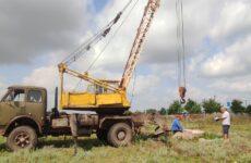 На водонапорной башне по ул. Гагаузкая ведутся ремонтные работы