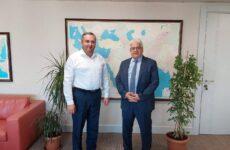 В Анкаре прошла встреча примара с. Копчак с зам. директора агентства ТИКА  Махмут Чевик