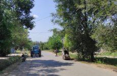 Санитарная очистка села