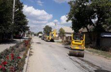 Ямочный ремонт дорожного покрытия по улицам Родака, Бориса Главана
