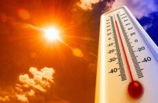 Высокая вероятность пожаров из-за жары.