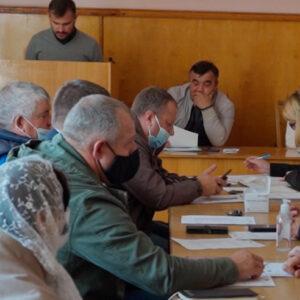 Заседание местного совета от 20.10.2021г.